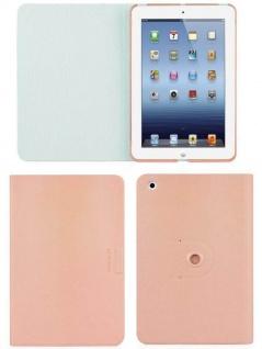 Macally Klapp-Tasche Cover Ständer Falt-Hülle Bag für Apple iPad mini 1 2 Retina