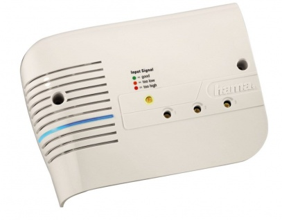 "Hama Mehrbereichsverstärker "" SG3"" 20 dB UKW/VHF/UHF Koax-Kupplung 230 V"