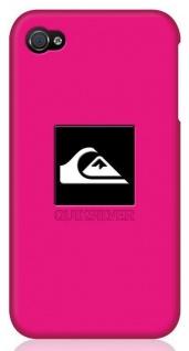 Quiksilver Silikon Cover Case Schutz-Hülle Softcover Bag für Apple iPhone 4 4S