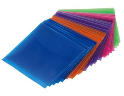 Hama 25x PP Kunststoff Schutz-Hüllen CD-Hüllen Sleeves CD DVD Blu-Ray CD-Tasche
