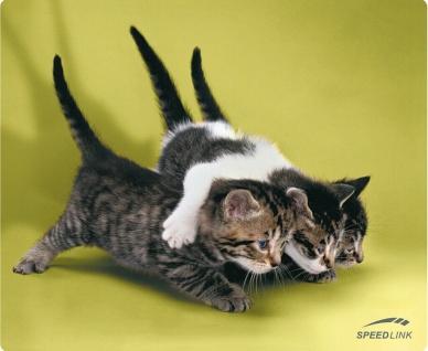 Speedlink SL-6242 Mouse-Pad Cats Maus-Pad Baby Katzen Katze für PC Notebook etc