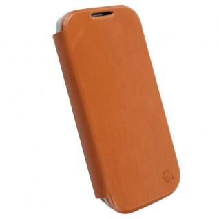 Krusell Kiruna Flip-Cover Leder-Tasche für Samsung Galaxy S4 i9500 Hülle Case