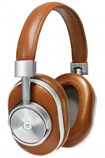 Master & Dynamic MW60 Brown Wireless Headset Bluetooth Leder Kopfhörer Earphones