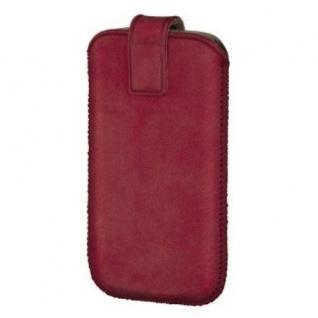 Hama Chic Case Leder Handy-Tasche Case universal für Apple iPhone 4/4S HTC Sony