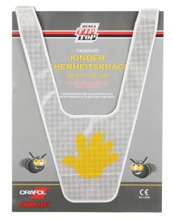 Kinder Sicherheits-Kragen Reflex Reflektor-Band Sicherheits-Weste Leucht-Band