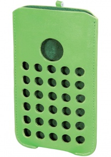 Ham Handy-Tasche Grün Cover Schutz-Hülle Etui Beutel Case für Apple iPhone 5C