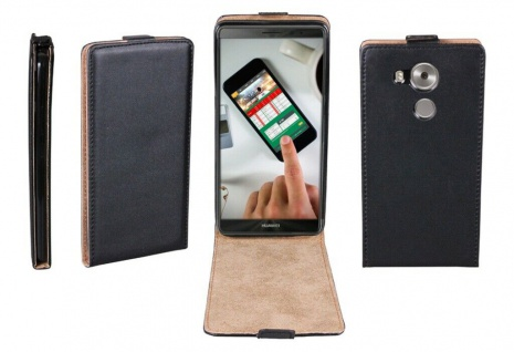 Patona Slim Flip-Cover Klapp-Tasche Schutz-Hülle Cover Case für Huawei Mate 8