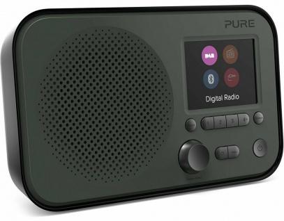 """Pure Elan BT3 Digital-Radio DAB DAB+ FM UKW mit Bluetooth 2, 8"""" Display Akku-Fach"""