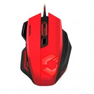Speedlink DECUS RESPEC Gaming Maus Beleuchtet dpi-Schaler Schnellfeuer-Taste