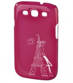 ELLE Tour Eiffel Hard-Cover Schale Hülle Bumper Tasche für Samsung Galaxy S3 S 3