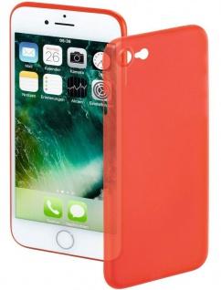 Hama Handy-Cover Ultra Slim Rot Schale Case Schutz-Hülle für Apple iPhone 7 / 8