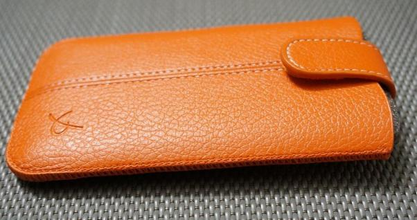 DOLCE VITA Leder-Tasche Etui für Samsung Galaxy S2 S3 Mini S4 Mini Case Hülle