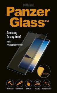 PanzerGlass Privacy Glas Display-Folie Schutz-Folie für Samsung Galaxy Note 9