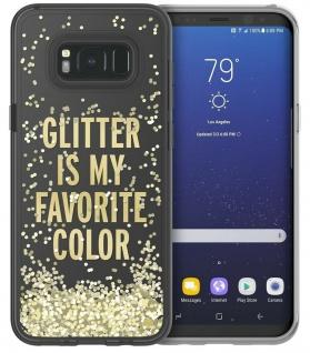 Kate Spade NY Liquid Glitter Cover Case Hülle Bag für Samsung Galaxy S8 Plus S8+