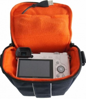 Hama Kamera-Tasche Hülle Case für Sony Alpha A-6300 A-6000 A-5100 A-5000 NEX-6 - Vorschau 3