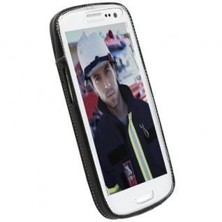 Krusell Case Cover Handy-Tasche Leder für Samsung Galaxy S3 S-III 3 I9300 Hülle