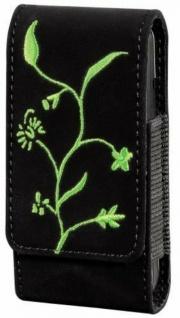 Hama universal Handy-Tasche Flora grün Köchertasche Case Schutz-Hülle Etui Bag