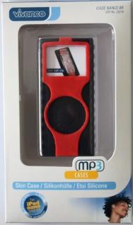 Vivanco i-Case Silikon-Hülle für Apple iPod Nano 2 2G Etui Tasche 2. Generation