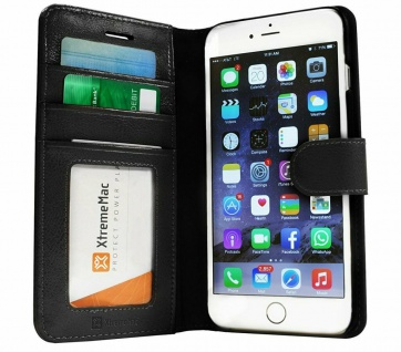 XtremeMac Wallet Klapp-Tasche Cover Flip-Case Hülle für Apple iPhone 6 6s Plus