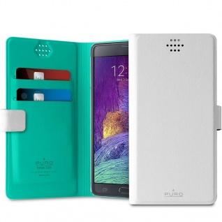Puro Universal Slim Wallet Booklet Flip-Case Schutz-Hülle 360°Cases XXL