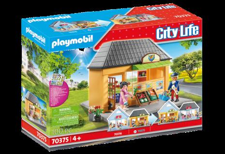 Playmobil City Life 70375 Mein Supermarkt Shop tolles Sortiment mit viel Zubehör