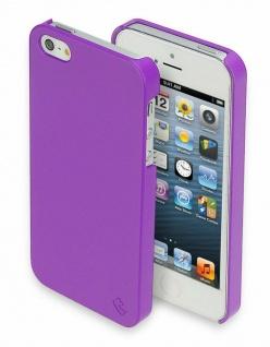 Telileo Back-Cover Rubber Tasche Schutz-Hülle Hard-Case für Apple iPhone SE 5s 5