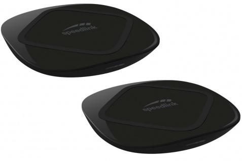 2x Set SLWireless Charger QI Ladegerät Kabellos Induktive Ladestation USB Lader
