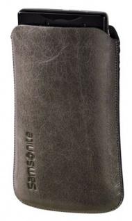 Samsonite Handy-Tasche Sleeve Toledo Gr. M grau Köchertasche Etui Case Hülle Bag