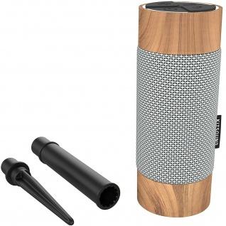 KitSound Diggit 360 ° Bluetooth Outdoor Lautsprecher IP55 Garten Speaker BT Box