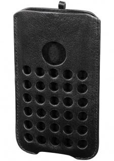 Ham Handy-Tasche Schwarz Cover Schutz-Hülle Etui Beutel Case für Apple iPhone 5C