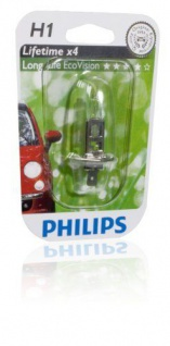 Philips H1 Eco 12V Energy KFZ PKW Auto-Lampe Auto-Birne Abblendlicht Xenon-Gas