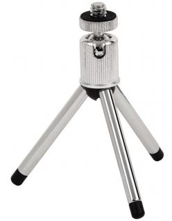 Hama Stativ Micro Pod silber Mini-Stativ Tisch-Stativ Video-Stativ Kamera Foto