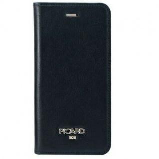 Picard Simple Diary Klapp-Tasche Wallet Hülle für Apple iPhone 6 Plus 6s Plus