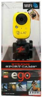 Liquid Image EGO WiFi Action-Cam Kamera Camcorder Helm Fahrrad MTB Motorrad Ski - Vorschau 1