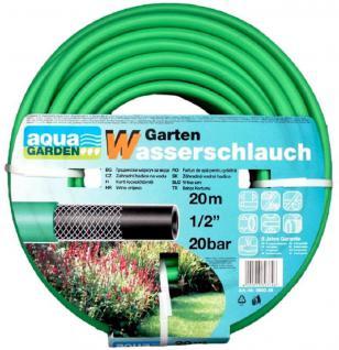 "Gartenschlauch 20m Wasserschlauch Schlauch 1/2"" Zoll 0, 5 1/2 Zoll Grasgrün - Vorschau 1"