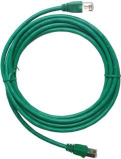 3m Netzwerk-Kabel Cat6 Grün STP Lan-Kabel Patch-Kabel Cat 6 Gigabit Ethernet