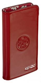 Kenzo Pouch Tasche Case Etui Schutz-Hülle universal rot für Apple iPhone Samsung