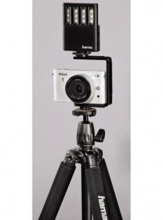 Hama LED-Leuchte Power Foto/Video Fotolicht Blitzschuh Kamera Licht Kopflicht - Vorschau 2