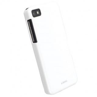 Krusell Cover weiss Case Tasche für Blackberry Z10 Hülle Hardcover Box Bag Etui