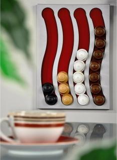 Kapsel-Halterung Spender Halter Wand-Montage für Dolce Gusto Kaffee-Kapseln Caps - Vorschau 4