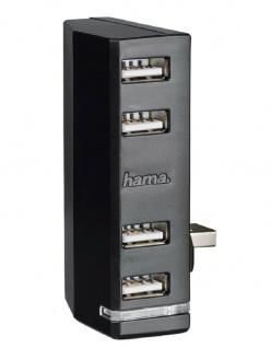 Hama 4-Fach USB-Hub LED Modul USB 4x Port Adapter für Microsoft Xbox ONE Konsole
