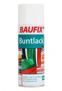 Baufix Lack-Spray Weiß Glanz 400ml Sprüh-Dose Spray-Dose Sprüh-Lack Farb-Spray