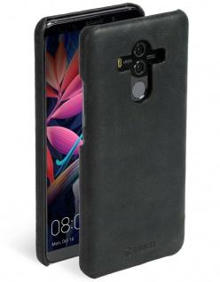 Krusell Cover Leder Hard-Case Schale Schutz-Hülle Tasche für Huawei Mate 10 Pro