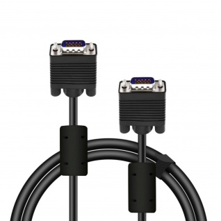 SPEEDLINK VGA Kabel 1.80m HQ Videokabel Kupfer-Leiter für PC Monitor