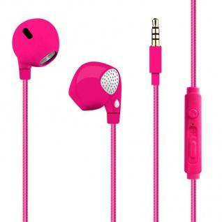 Puro In-Ear Round-Cable Kopfhörer Handy Smartphone mit Mikrofon
