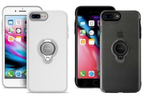 Puro Magnet-Halterung Ring Cover Case Hülle Handy-Halter für iPhone 7 8 Plus