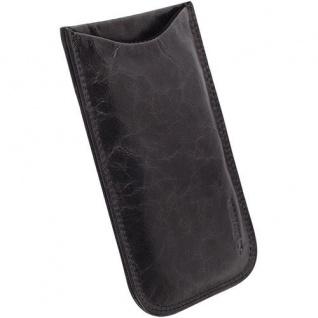 Krusell Tumba XXL Handy-Tasche Leder Case Etui für Samsung Galaxy S4 Core etc.