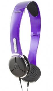 Aerial7 Ohm Amethyst Sound-Disc Headset Mikrofon Kopfhörer Handy MP3-Player etc
