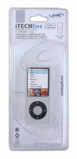 G&BL Silikon Skin Tasche Case Schutz-Hülle Weiß für Apple iPod 4.Generation 4G