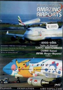 Japan Mega-Airports! Vol. 1 2000-2005 Jet Kingdom Flugzeug-Simulator Flughafen